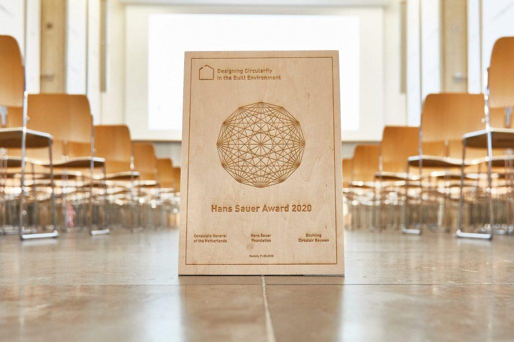 Urkunde der Preisträger*innen