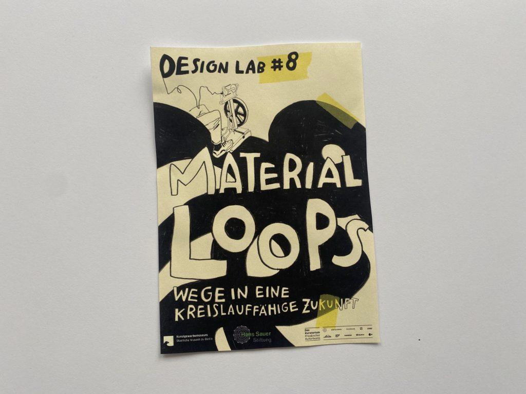 Cover des Readers 'Material Loops - Wege in eine kreislauffähige Zukunft'